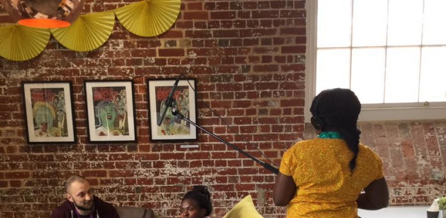 Aspex Gallery Interviews Skills Workshop for PONToon