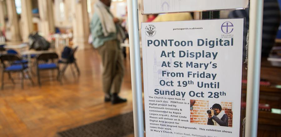 Aspex PONToon digital arts participants exhibit as part of Journeys Festival