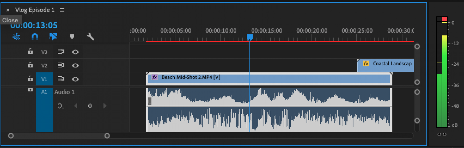 PONToon video editing tutorial - audio levels