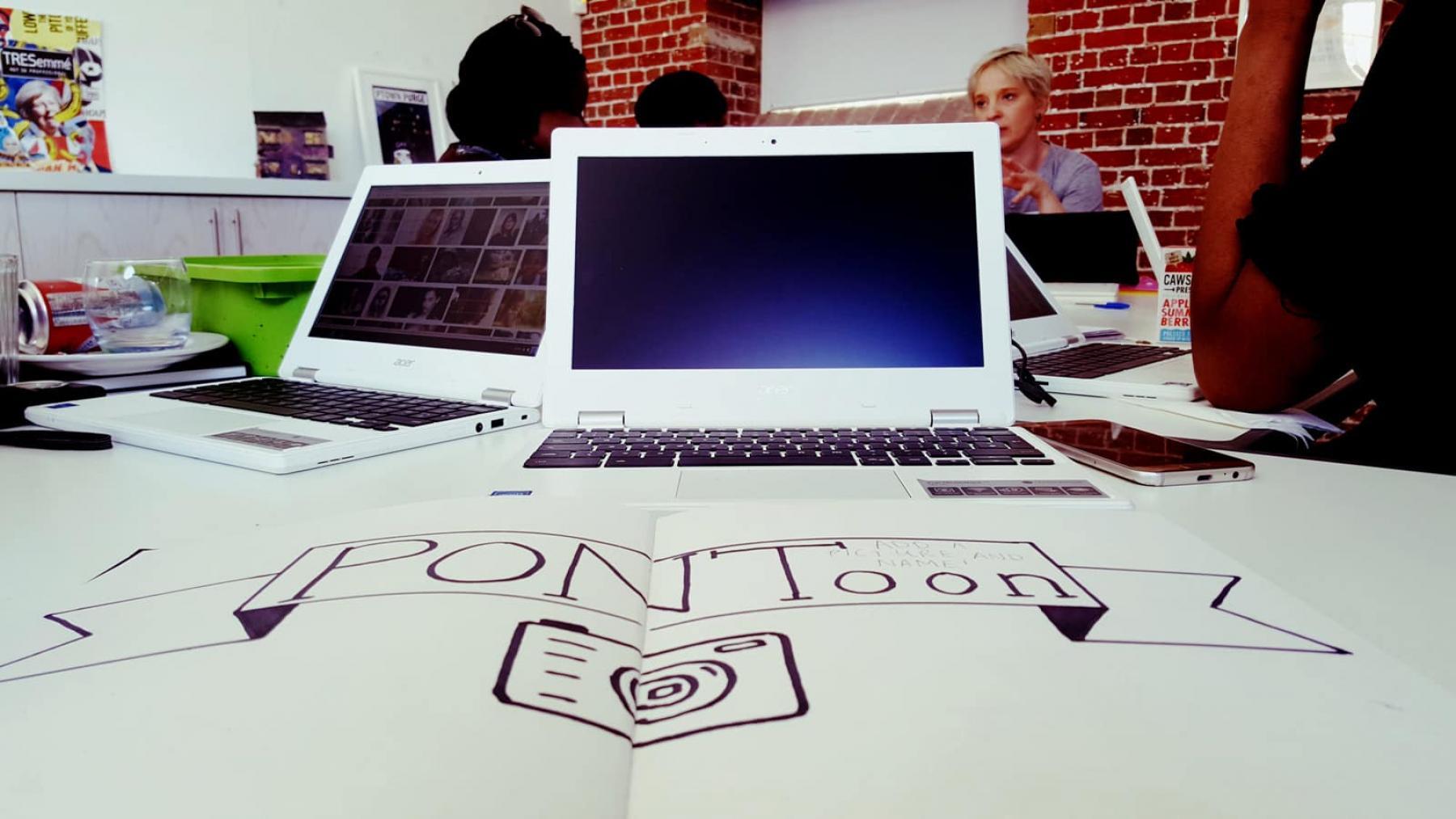 Aspex Gallery PONToon up-skilling workshop