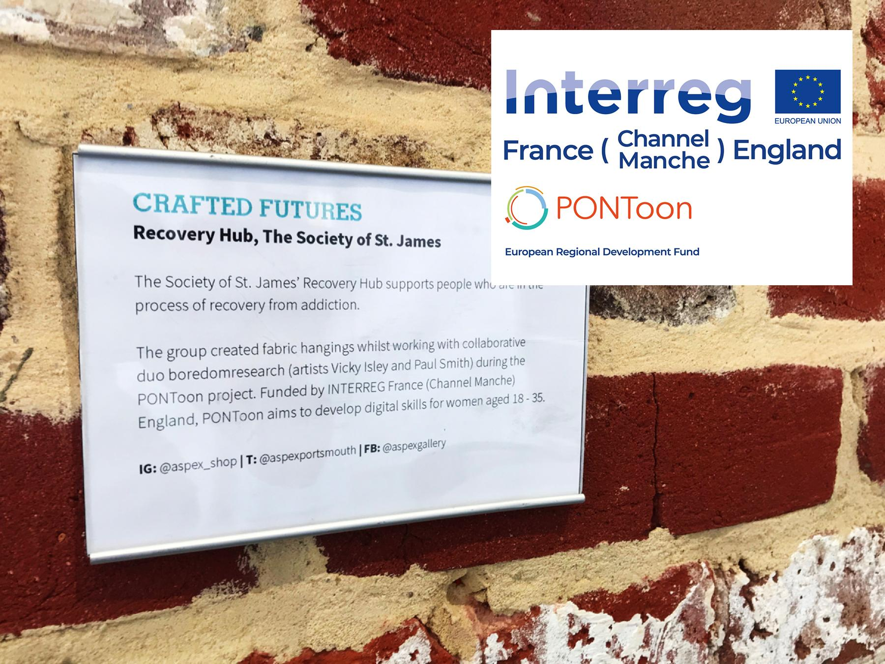 PONToon Beneficiary at Aspex's Crafted Futures