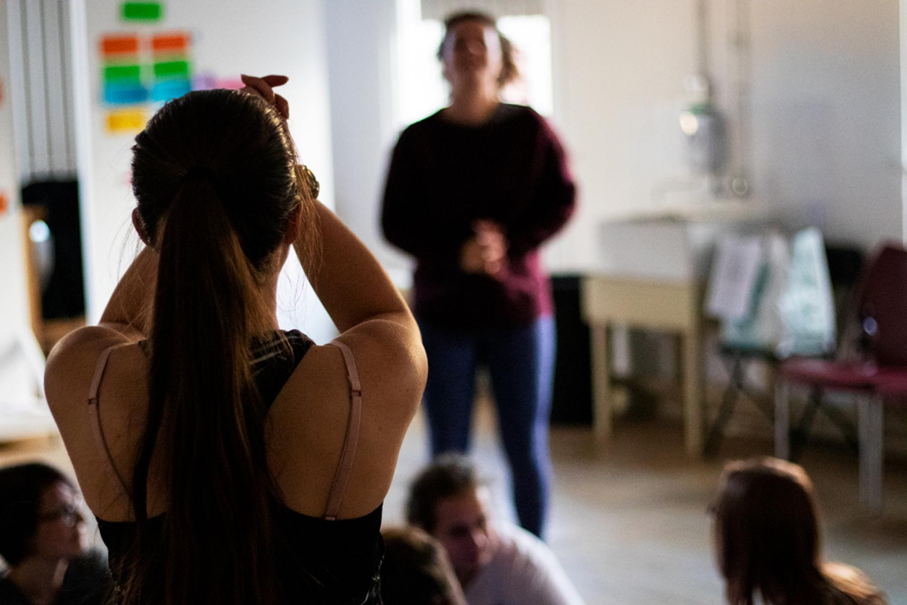 PONToon Dance and Coding Workshop - Interactive digital performance