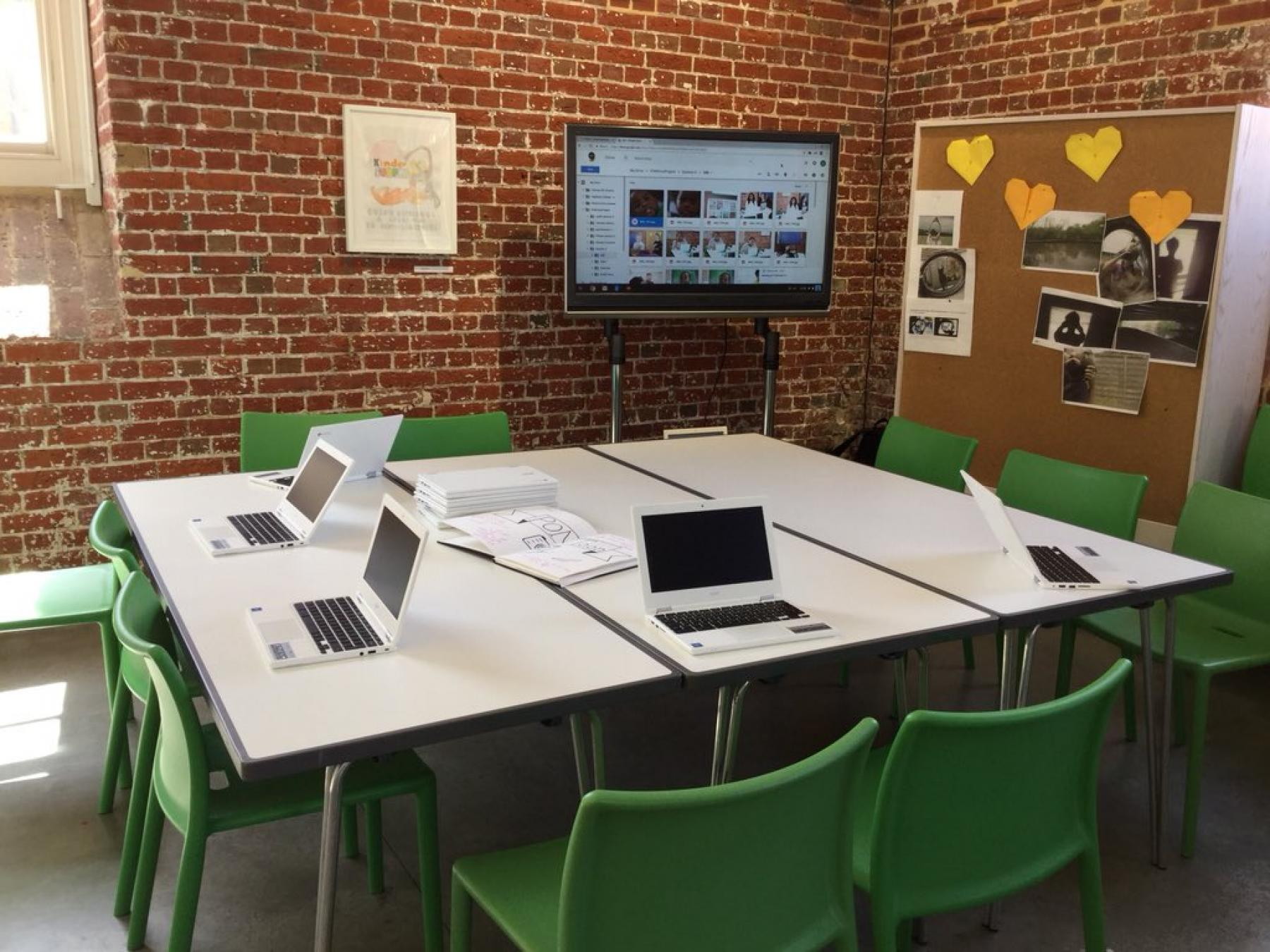 Aspex Gallery Participation and Learning week 5 set-up