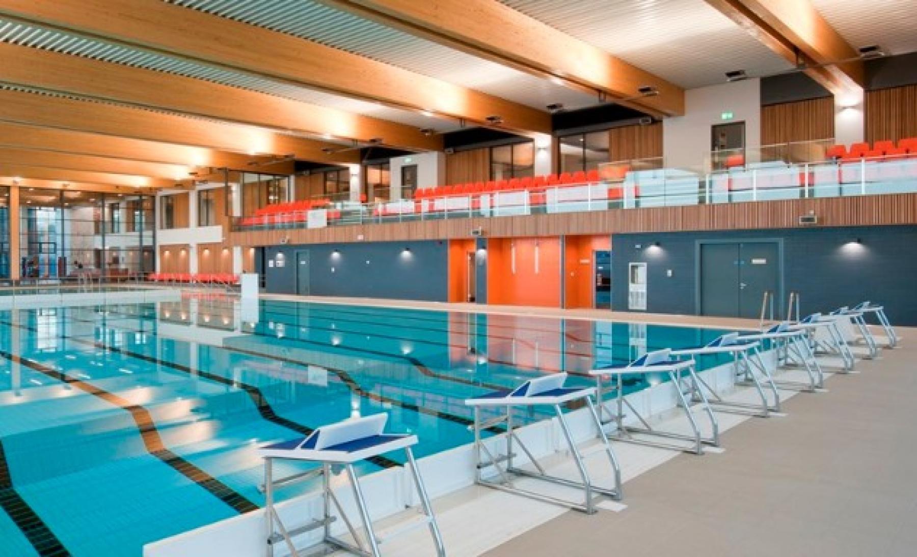La nouvelle construction de Places Leisure Eastleigh souligne l'engagement du conseil municipal à promouvoir un mode de vie sain.