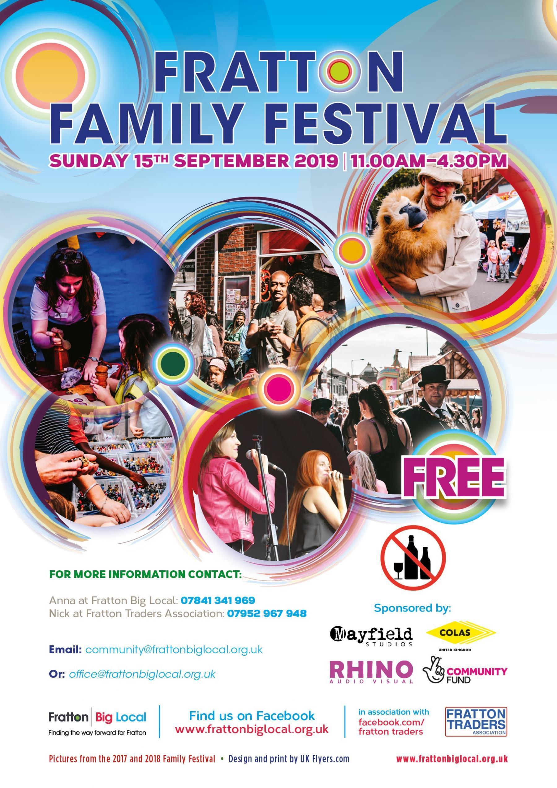 Fratton Family Festival Poster