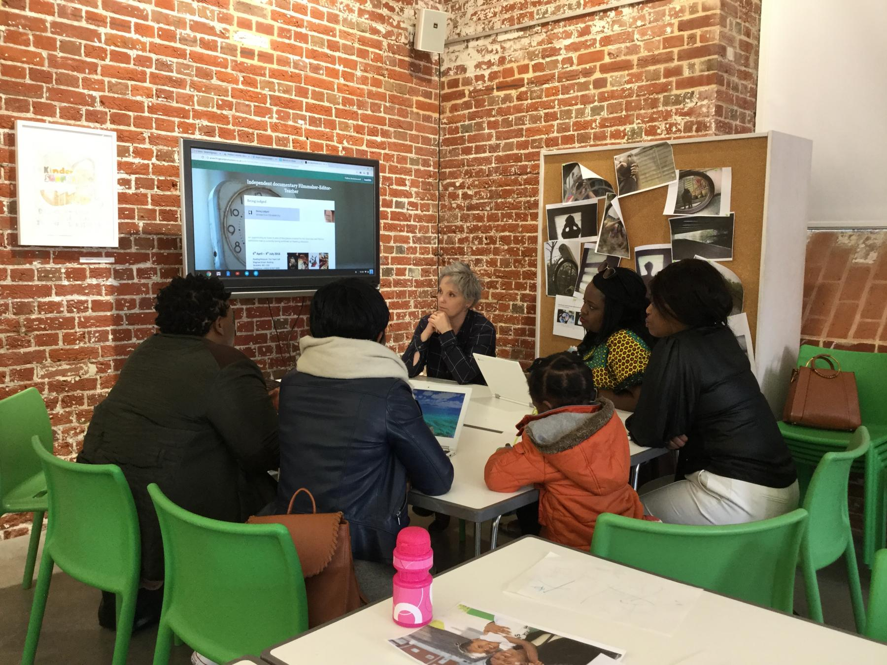 Aspex Participation and Learning Film workshop with Freelance Filmmaker Linda Mason