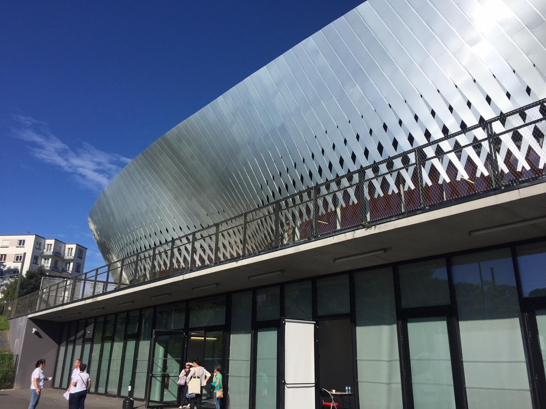 The employment event was hosted at the stunning Brest Arena