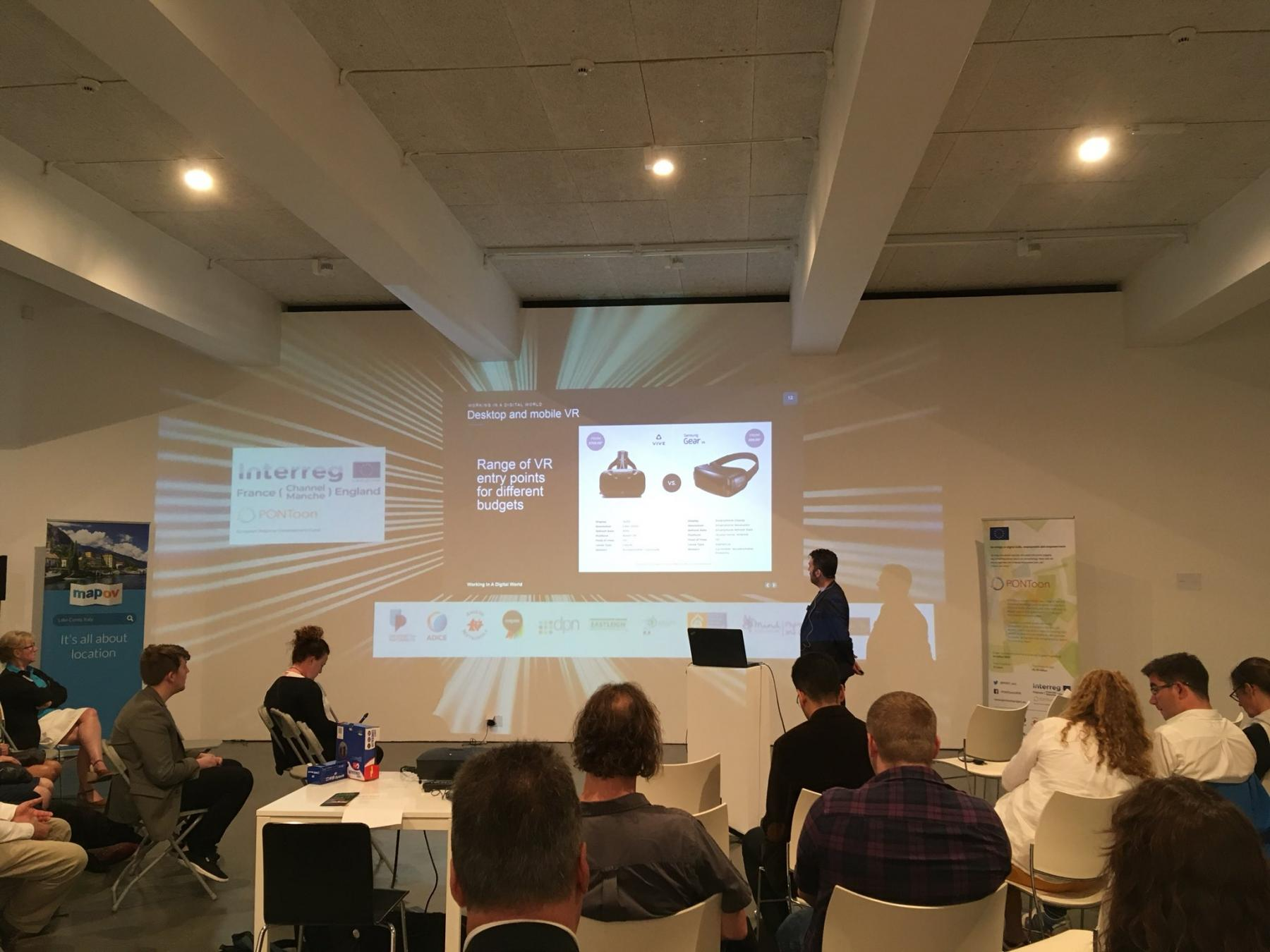 VR Cornwall's Matt Harding talks about the employment opportunities present by VR