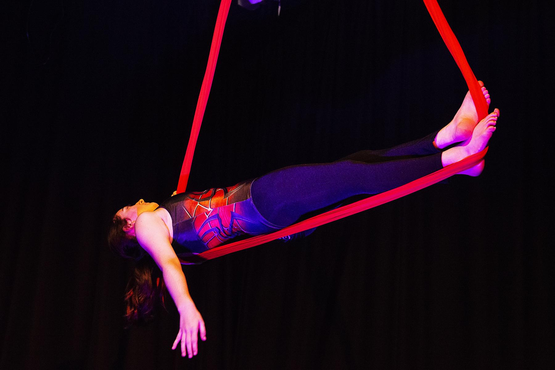 Circus used as a means of providing women with self confidence and digital skills