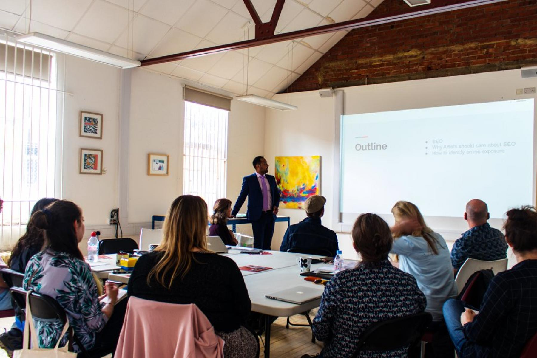 Eastleigh Borough Council SEO Workshop with Aaron Syed