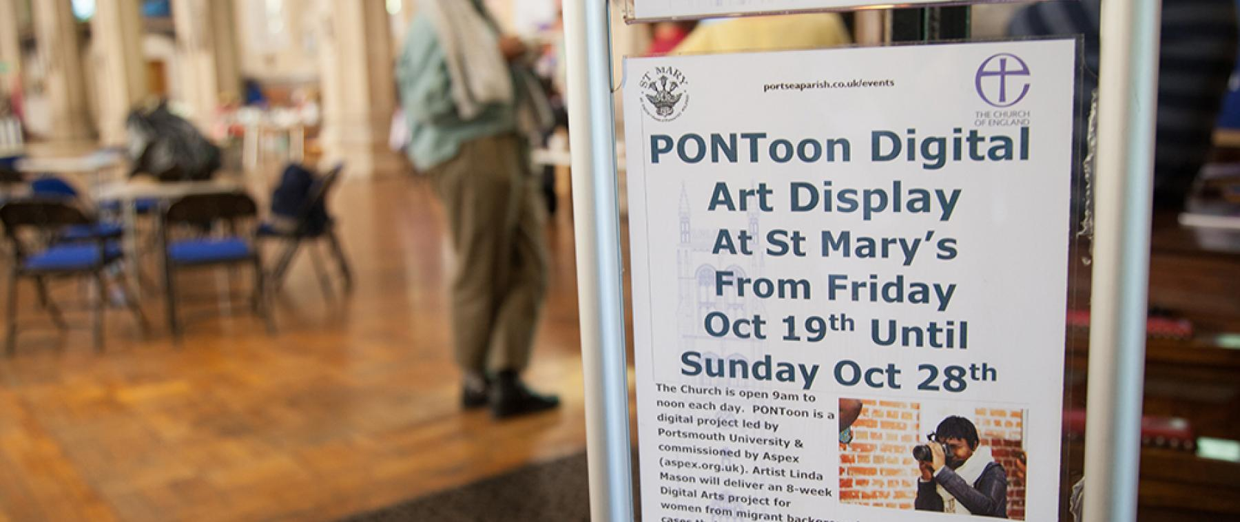 Aspex PONToon digital arts participants exhibit as part of Journeys Festival